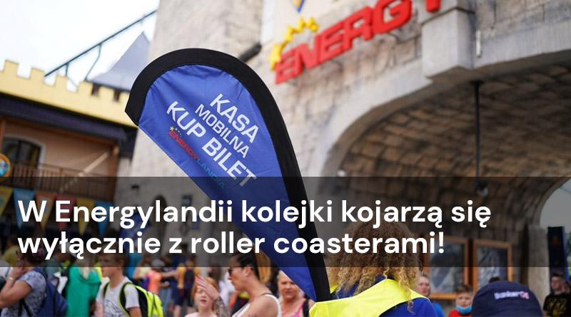 W Energylandii kolejki kojarzą się wyłącznie z roller coasterami!