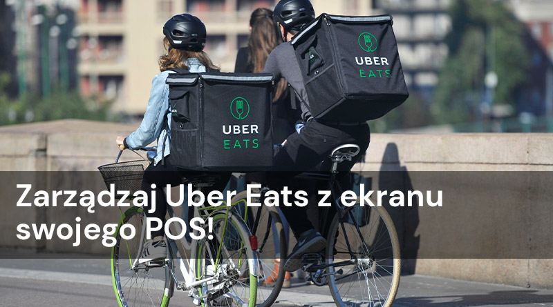 Zarządzaj Uber Eats z ekranu swojego POS!